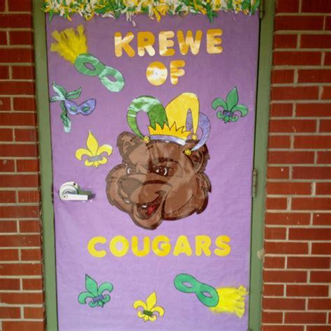 mardi gras door decoration classroom ideas pinterest