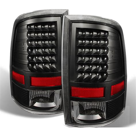 dodge ram tail lights 2009 2017 dodge ram non factory led model performance