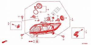Headlight Electrical Equipments Exhaust Heater Base 2011 Cr Z Honda Cars   Honda Cars