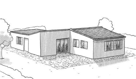 plan villa plain pied 4 chambres plan maison 100m2 3 chambres plan maison en v plan maison