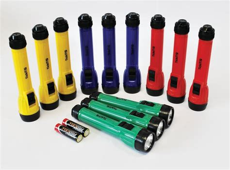 Handy Torch Set Of 12,childrens Torches,classroom Torches,torches For School,childrens Pack Of