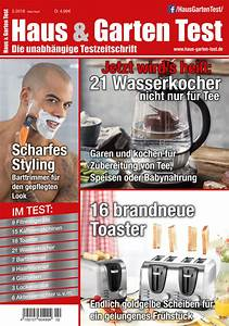 Haus Und Garten Test : haus garten test 2 2018 das testmagazin mit tests und ratgebern ~ Whattoseeinmadrid.com Haus und Dekorationen