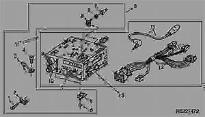 Radio  Delco  - Tractor John Deere 4555 - Tractor