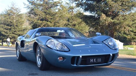 ford gt mark iii coupe  million car driving