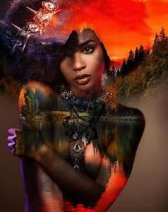 Black Women Art Natural Hair   www.pixshark.com - Images ...