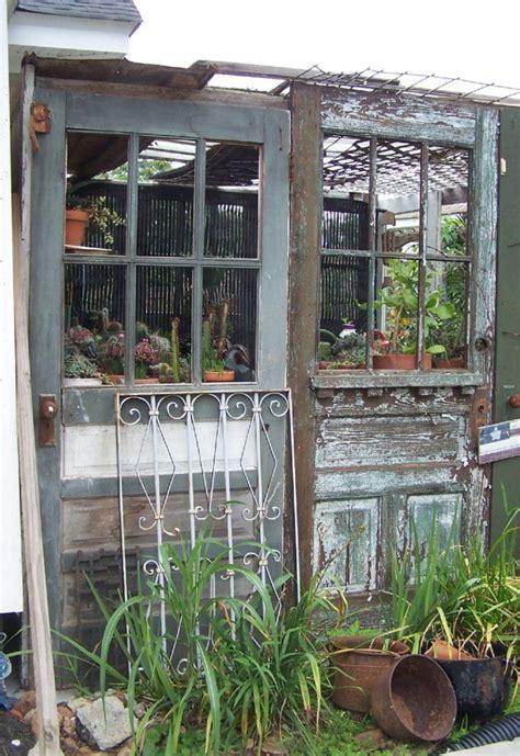 des idees originales pour recycler vos vieilles portes en