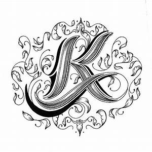 Information About Fancy Letter K Designs Yousense Info