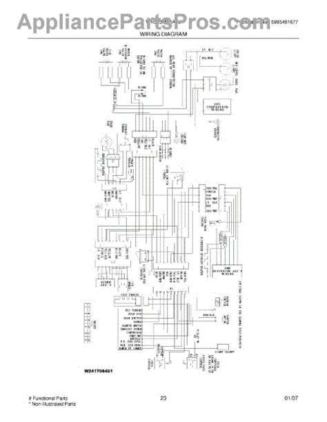parts for white westinghouse wrs23mf5asj wiring diagram parts appliancepartspros