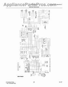 Parts For White Westinghouse Wrs23mf5asj  Wiring Diagram