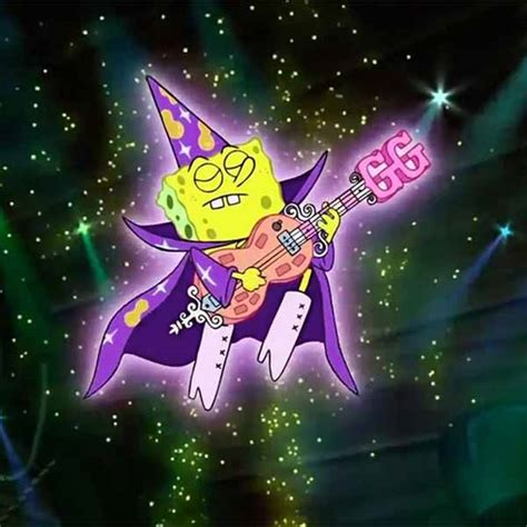 spongebob squarepants goofy goober rock  misc
