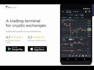 TABTRADER for crypto exchange - YouTube