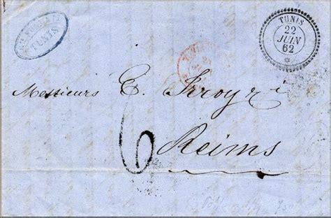bureau de poste reims histoire postale de la tunisie tunisia tunez et de la