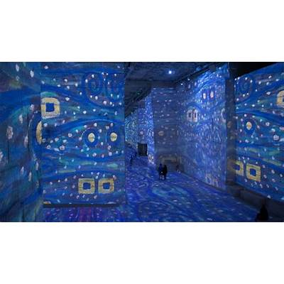 Abertura do Atelier des Lumières com exposição de Gustav