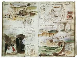 Carnet De Voyage Original : le carnet de voyage du peintre delacroix au maroc ~ Preciouscoupons.com Idées de Décoration
