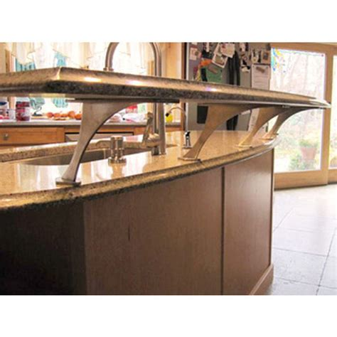 Floating Countertop Supports by Easily Create A Floating Countertop With Federal Brace S