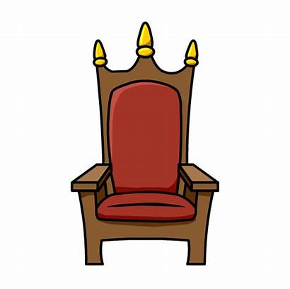 Throne Chair Clipart Queen Drawing Clip Royal