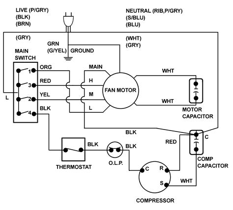 air conditioner wiring diagram pdf diagram diagram