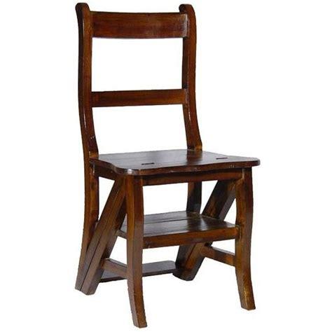 chaise coloniale chaise coloniale porte plante escabeau acajou achat