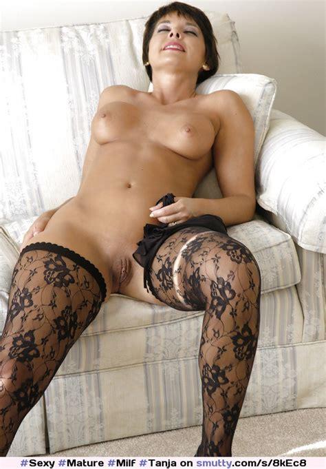 sexy mature milf tanja stunning stockings