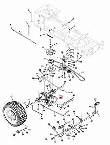 Cub Cadet Sltx 1054 Drive Belt Diagram