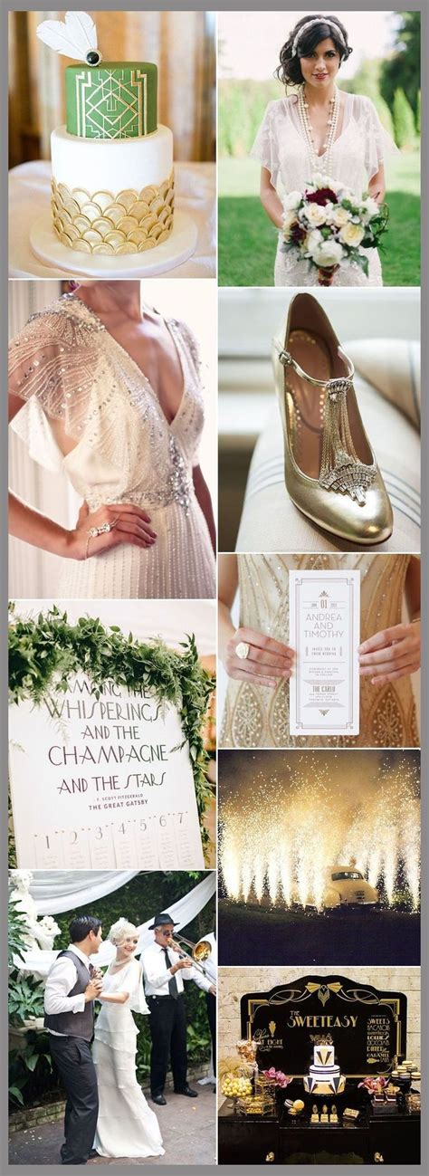 """How To Throw The """"Great Gatsby"""" Wedding Of Your Dreams"""
