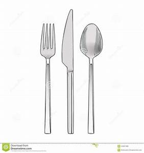 Free spoon fork knife coloring pages