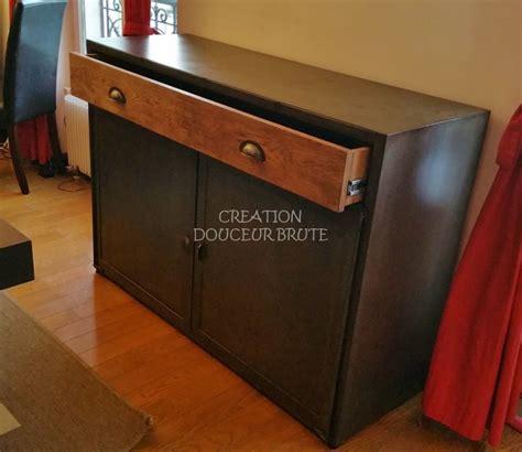 buffet nogent 2 portes 1 tiroir en bois sur mesure