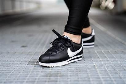 Cortez Nike Leather Classic Womens Sneakers