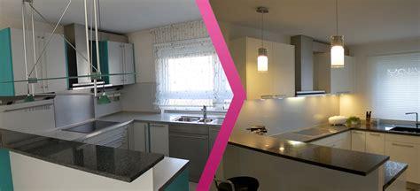 Küchen Vorher Nachher by K 252 Chen Vorher Nachher Im Vergleich Der Kuechenrenovierer