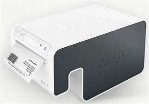 leitz label printer combines ios app and wi fi for ease of With ios label printer