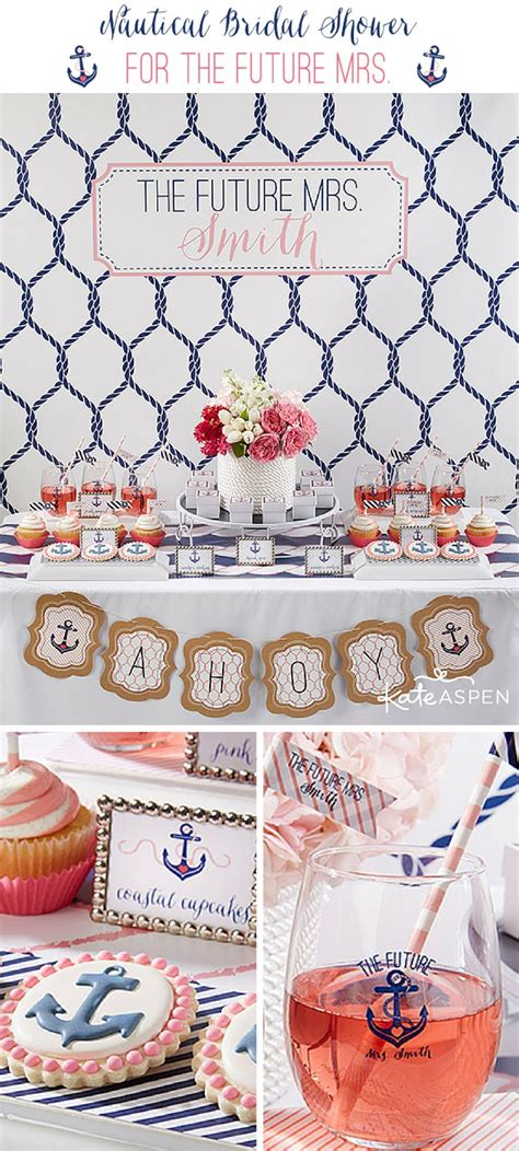 Nautical Themed Bridal Shower - 25 best ideas about nautical bachelorette on