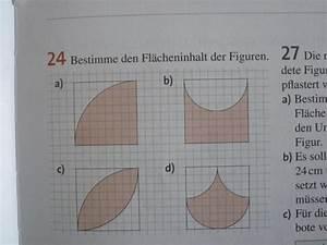 Fläche Von Kreis Berechnen : fl che fl cheninhalte von figuren aus kreisausschnitten berechnen mathelounge ~ Themetempest.com Abrechnung