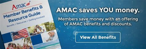 Amac Discounts by Amac The Voice Of Americans 50 Better For You Better