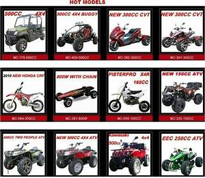 Eec 250cc Atv Quad Mc-351