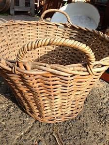 Vintage, Australian, Wicker, Laundry, Hamper, Toy, Basket, The, Antique, Store, Antiques, Retro, Vintage