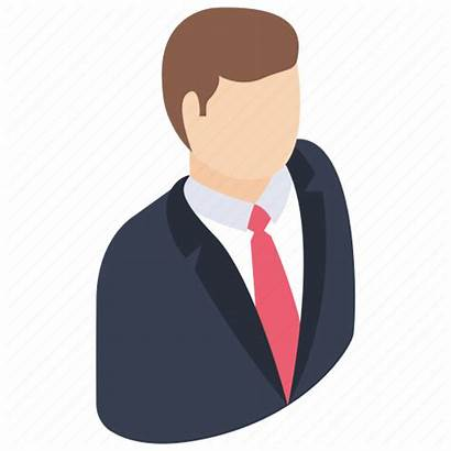 Icon Person Businessman Manager Avatar Businessperson Business