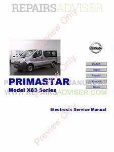 Nissan Primastar Model X83 Series 2001