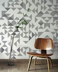 Stylish geometric wall d?cor ideas digsdigs