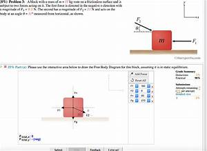 Free Body Diagram Interactive Answers