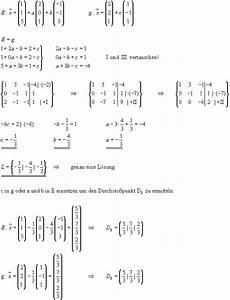Schnittpunkt Berechnen Parabel Und Gerade : mathematik lineare algebra ~ Themetempest.com Abrechnung