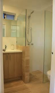 Bathroom Stall Dividers Dimensions by Our Very Small Ensuite Renovation Modern Bathroom