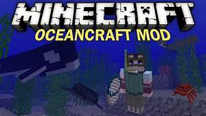 Minecraft Mod Showcase: OCEAN CRAFT! - YouTube