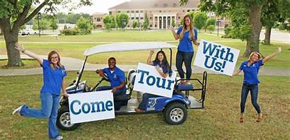 Campus Admissions Tour Tours Personal University Schedule