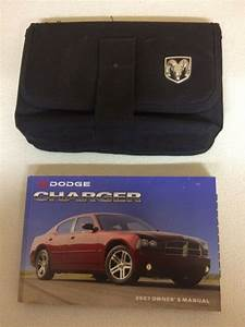 2007 Dodge Charger Owner U0026 39 S Owners Manual Books User Guide