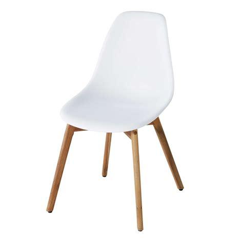 chaise de jardin maison du monde chaise de jardin scandinave blanche lima maisons du monde
