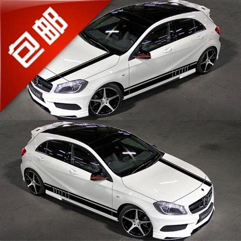 If your car is sevn seat car, you also want seven seat car floor mats, you need additional pay $30. Mercedes Benz A Class Car Stickers A180 / A200 / A260 / A250 Amg Car Stickers Decorative Body ...