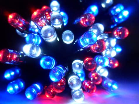 red white and blue lights red white and blue christmas lights christmas decore