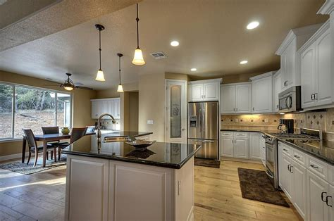 single story country custom custom homes home builders