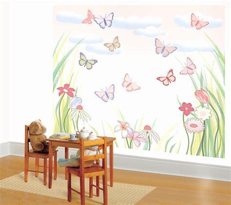 wall decor girl nursery design ideas