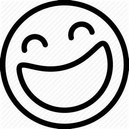 Laughing Face Icon Emoji Smiley Icons Coloring